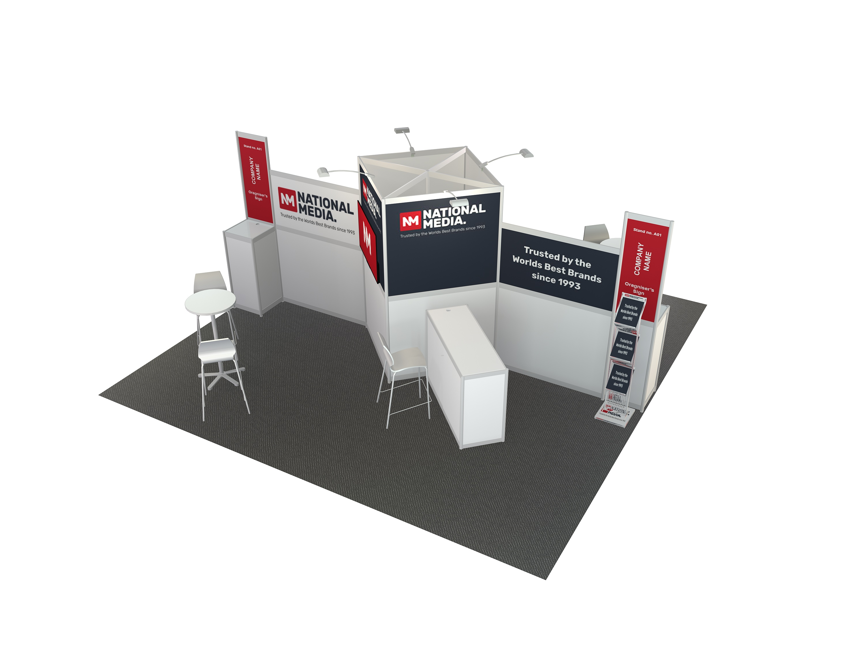 6m  x  3m  Stand