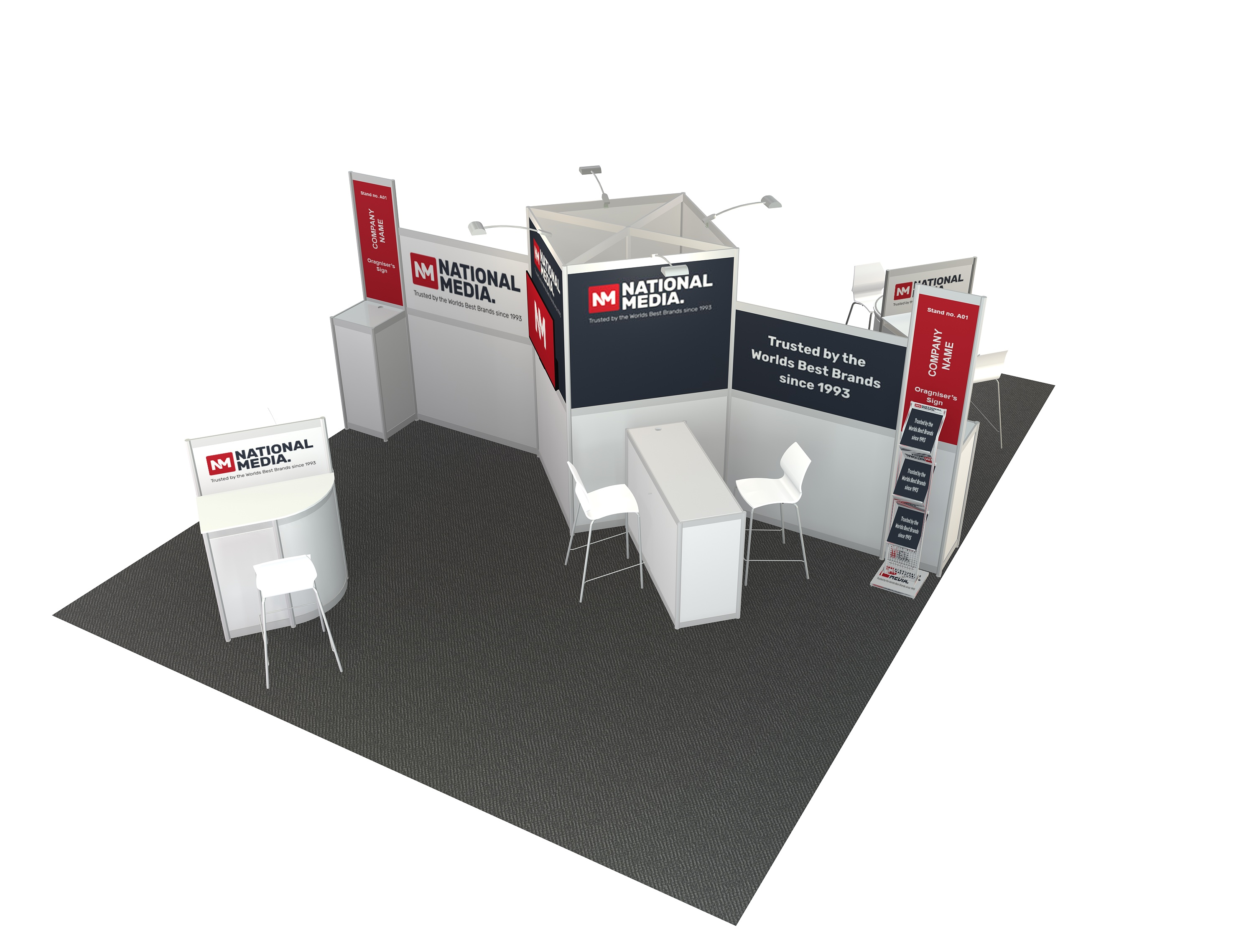 6m  x  4m  Stand