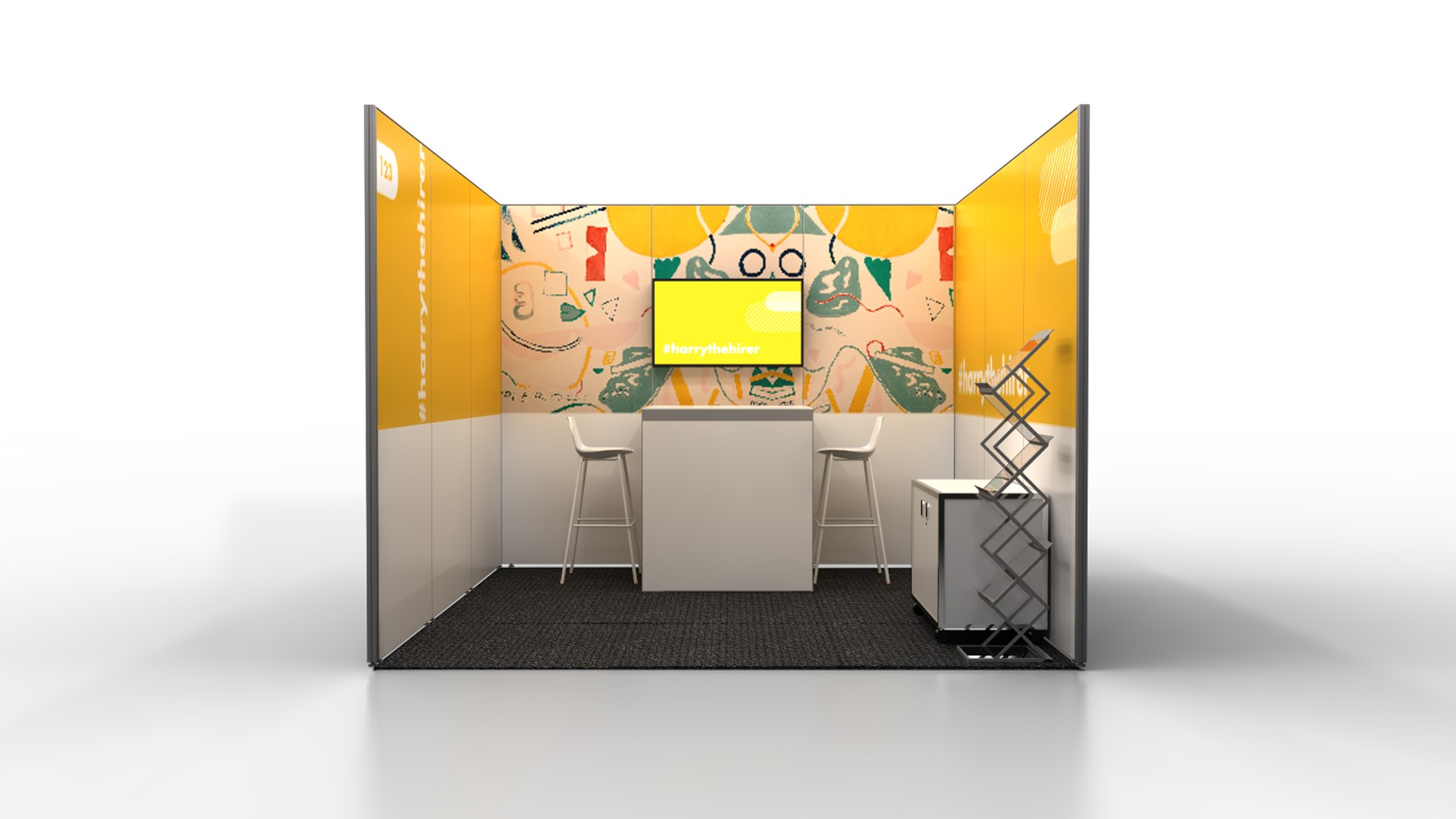 3m  x  3m  Stand